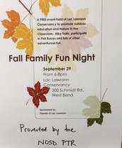 This Thursday Night - FALL Family Fun Night