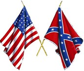 Example: Civil war; North(Union) and East(Confederate)