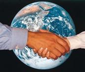 Globalisierung in dem Welt