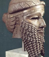 Bronze Head of Sargon