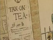 Taxes Raised on Tea!!