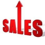 Top Sales:  DECEMBER