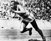 Jesse Owens' 1936 Olympic performance