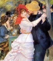 Danze a Bougival, Renoir, 1882