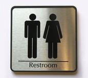Puedo ir al baño/ me permites ir al baño