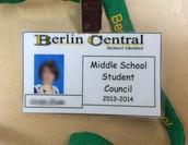 """Student Council """"BLUE"""" Passes"""