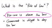 What is Rule of Law?