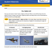 Fly a Jet Activity