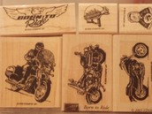 Born to Ride set of 6