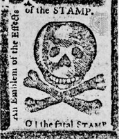 Stamp from stamp act