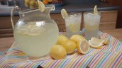 We will also be serving yellow lemonade.