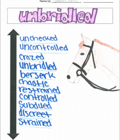 """Unbridled"""