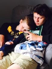 Mi hermana Brody nació Febrero 8th 2013.