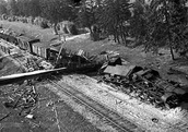 The train Selim blew up during WW II