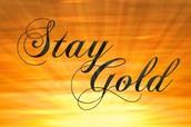 Stay gold pony boy, stay gold