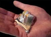 Gallium in a hand