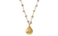 La Folie Necklace - Purple