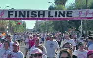 Finish line to the cure