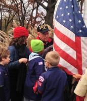 Veteran's Day Flag Raising