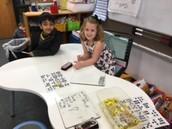 Using addition strategies!