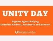 Unity Day-Wednesday-Wear ORANGE!