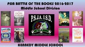 Battle of the Books Kennedy Middle School 2016-2017