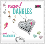 New dangles and charms.