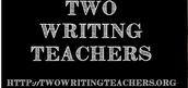 BLOG focus:  Two Writing Teachers