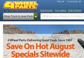 Save Money with 4 Wheel Parts Coupon Code