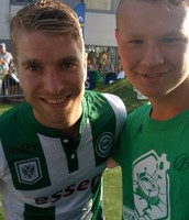 One of the players of my favourite club ''micheal de leeuw''