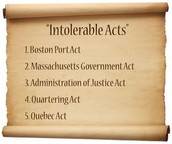 What led up the Massachusetts Government Act?