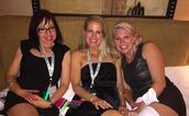 After hours -- Monica, Liz, & Stephani