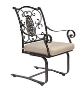 San Cristobal Spring Rocker Dining Chair