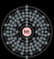Meitnerium Electron Cloud