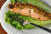 Olive Crusted Salmon
