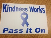 Kindness Bumper Stickers