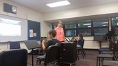 French horn practice!