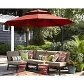 Outdoor Shelter Idea: Great big umbrella
