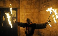 Knights at the Old City of Jerusalem