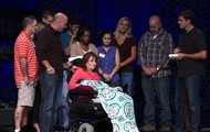 Check out this inspiring Baptism during our 4:30 service on 9.08