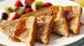 El pan tostado de Frances