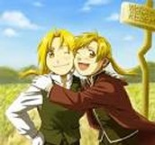 Elric brothers with normal bodies