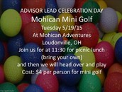 Putt Putt Celebration Day in Mohican!
