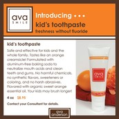 avaKids Toothpaste