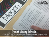 Spark Student Motivation: Finding Vocabulary Words