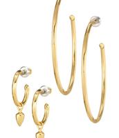 Orbit Hoop Earrings- comes with both sets