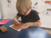 Practicing the Pincer Grasp with Push Pins