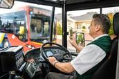 El conductor de autobús
