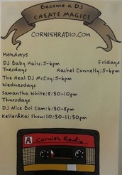 Did you know there's a student run radio station at Cornish?