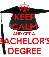 Bachelor and associates degree